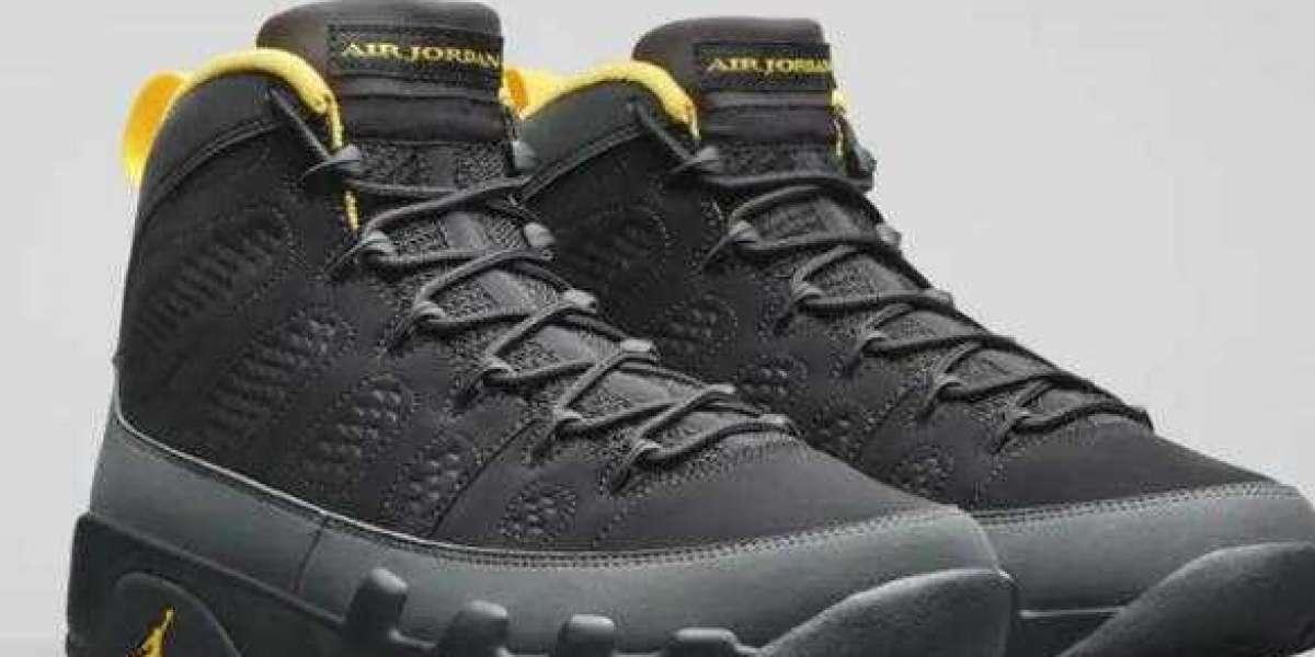CT8019-070 Air Jordan 9 University Gold to Debut Next Week