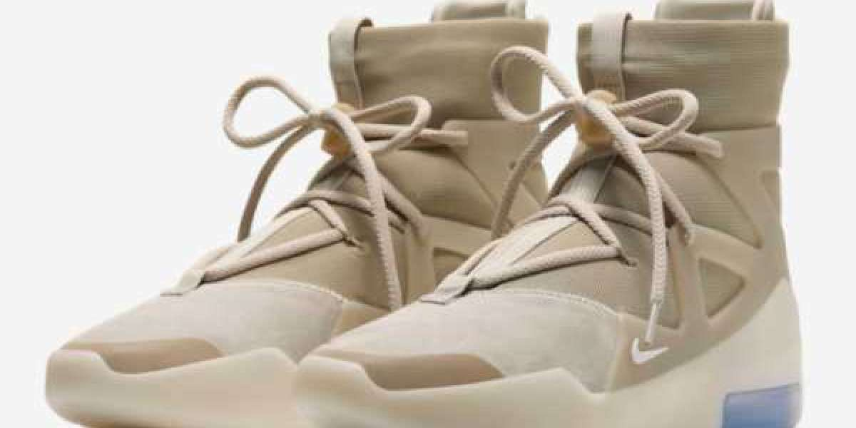 "Where To Buy Nike Air Fear of God 1 ""Oatmeal"" Shoes AR4237-900"