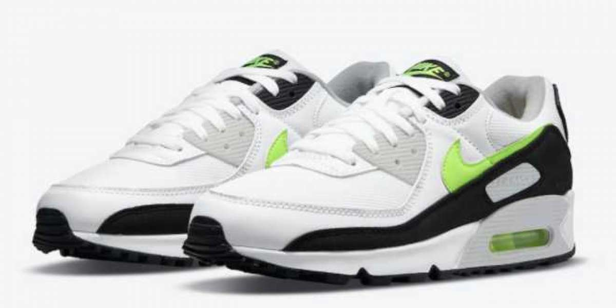 "Where To Buy Nike Air Max 90 ""Hot Lime"" CZ1846-100 ?"