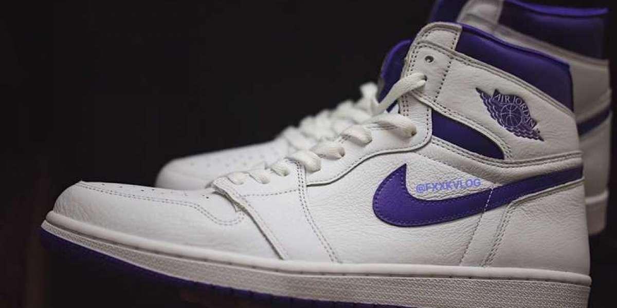 "2021 Best Selling Air Jordan 1 High OG WMNS ""Court Purple"" CD0461-151"