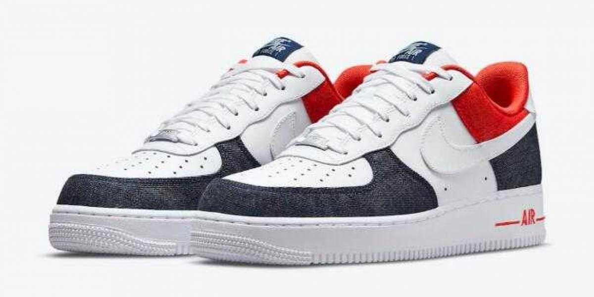 Nike Releasing Denim Again On The 2021 Air Force 1 Low