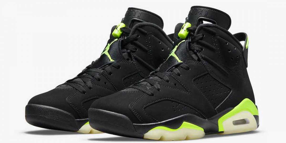 """Are these the Nike Air Jordan 6 """"Electric Green"""" CT8529-003 shoes you are familiar with?"""
