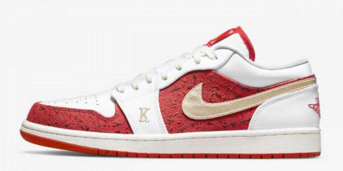 "These Air Jordan 1 Low ""Spades"" DJ5185-100 treasure shoes"