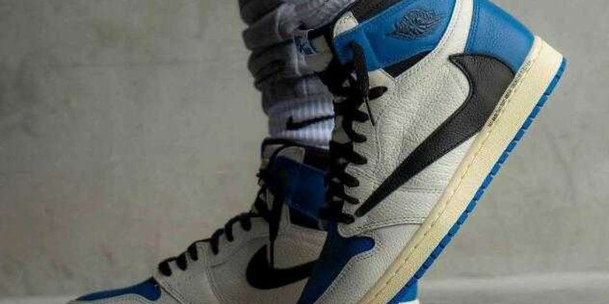 Travis Scott x Fragment Air Jordan 1 High is Available for Sale