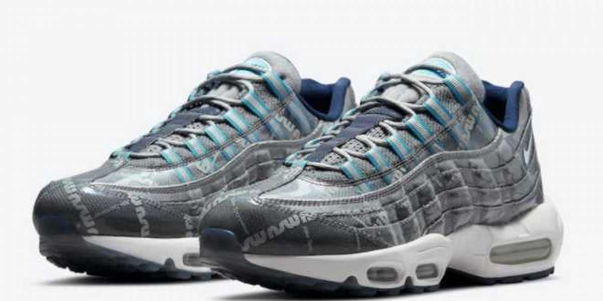 """Nike Air Max 95 """"Summer Showers"""" Sport Shoes On Sale DJ4670-084"""