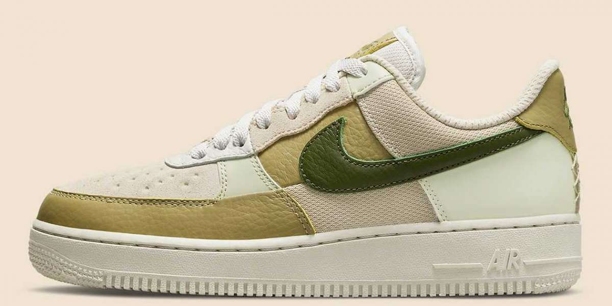 "2021 Latest Nike Air Force 1 ""Scrap"" DO6717-001"