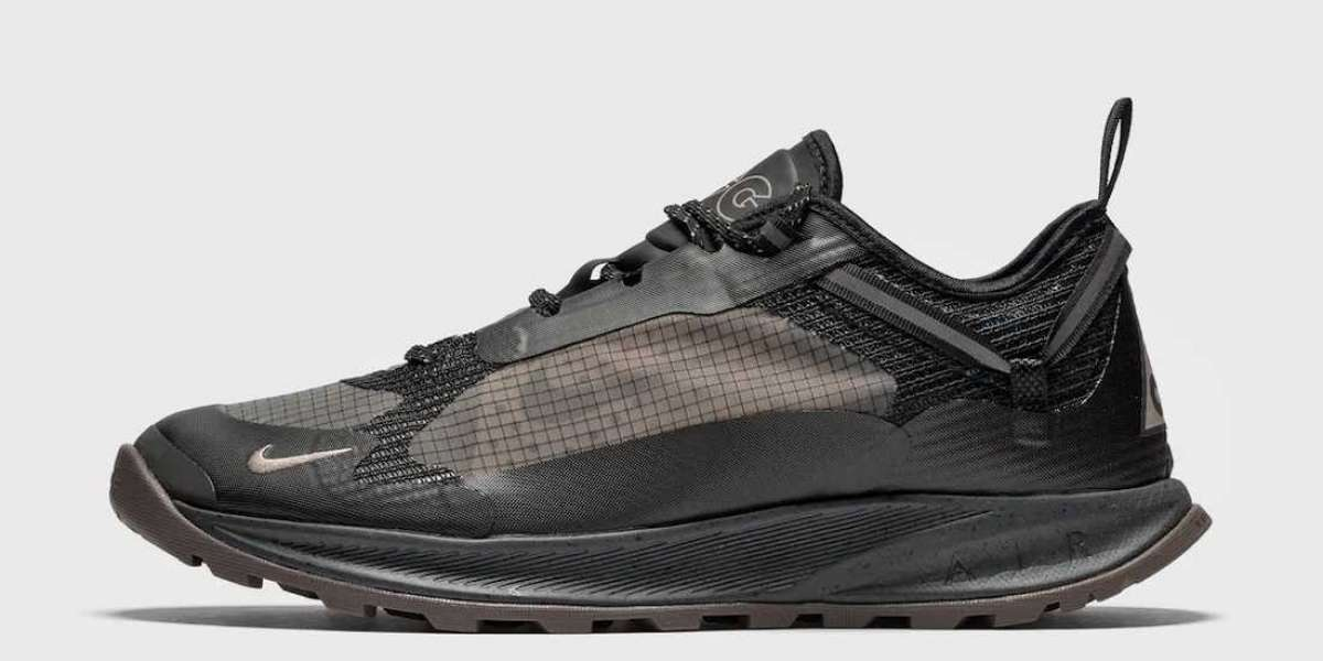 """2021 New Nike ACG Air Nasu 2 """"Anthracite"""" DC8296-002 You should not miss it!"""