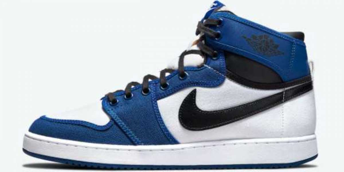 "2021 Air Jordan 1 KO ""Storm Blue"" Hot Sale DO5047-401"