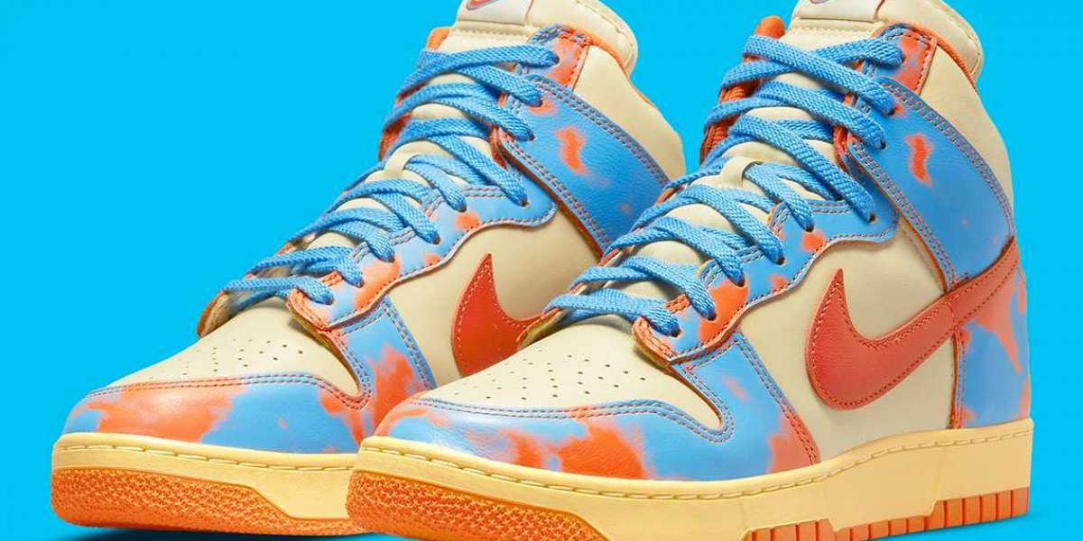 """2021 Nike Dunk High 1985 """"Acid Wash"""" For Sale"""